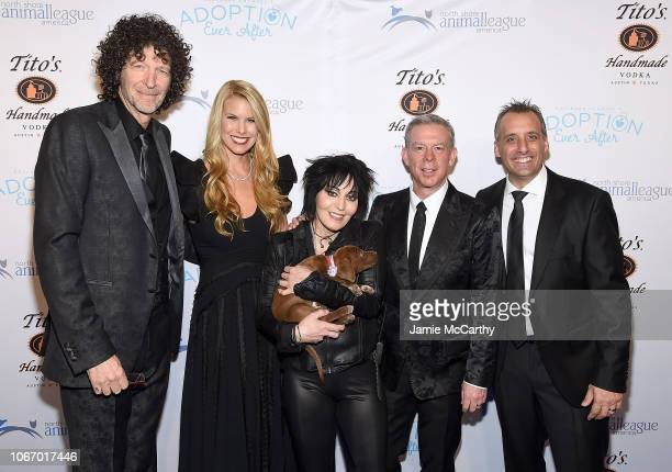 Howard SternBeth SternJoan JettElvis Duran and Joe Gatto attend the North Shore Animal League America's Annual Celebrity Get Your Rescue On Gala at...