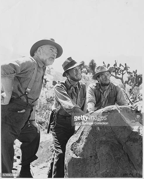 Howard the prospector leads Fred C Dobbs and Bob Curtin to The Treasure of the Sierra Madre