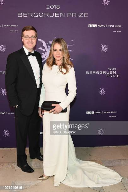Howard Warren Buffett and Lili Buffett attend the Third Annual Berggruen Prize Gala at the New York Public Library on December 10 2018 in New York...