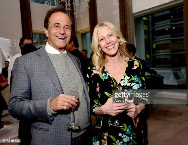 Howard Weiss and Cory Jafri attend Launch Of New Entity Withers Global Advisors at 432 Park Avenue on April 3 2018 in New York City Howard WeissCory...