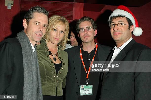 CT Howell Sylvie Anderson Jeff Schenck president of Regent Studios and Brian Goldman