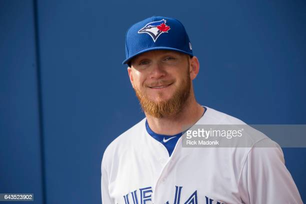 P Howell Toronto Blue Jays start the day early with Photo Day at Florida Auto Exchange Stadium Toronto Star/Rick Madonik