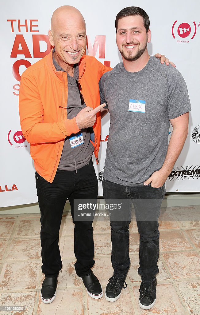 Howie and Alex Mandel attends Adam Carolla's Cinco De Mangria party benefiting Children's Hospital Los Angeles on May 5, 2013 in Malibu, California.