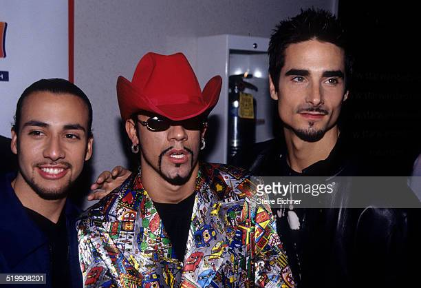Howie Dorough AJ McLean and Kevin Richardson of Backstreet Boys attend the premiere of 'Star Wars The Phantom Menace' New York May 16 1999