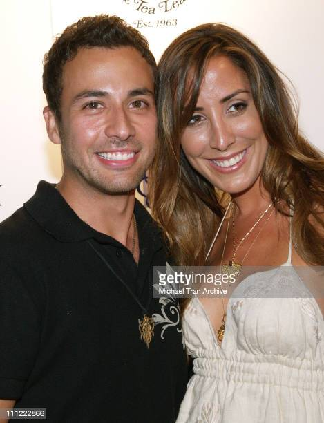 Howie Dorough and girlfriend Leigh Boniello during Howie Dorough Birthday Celebration to Raise Awareness of Lupus at LAX in Hollywood California...