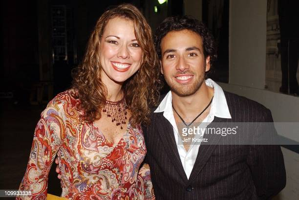 Howie Dorough and sister Pollyanna during MTV Video Music Awards Latinoamerica 2002 at Jackie Gleason Theater in Miami FL