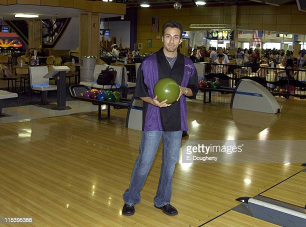 Howie Dorough during Howie Dorough and Elf Cosmetics Host Bowling for the Dorough Lupus Foundation at AMF Chelsea Piers Lanes in New York New York...