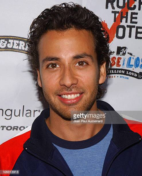 Howie Dorough during Rock The Vote 2004 National Bus Tour Concert Arrivals at Avalon in Hollywood California United States