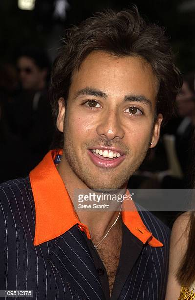 Howie Dorough during The 2002 ALMA Awards Arrivals at The Shrine Auditorium in Los Angeles California United States