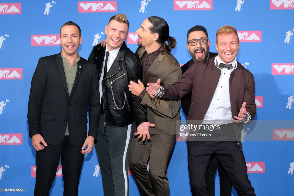 2018 MTV Video Music Awards - Press Room : News Photo