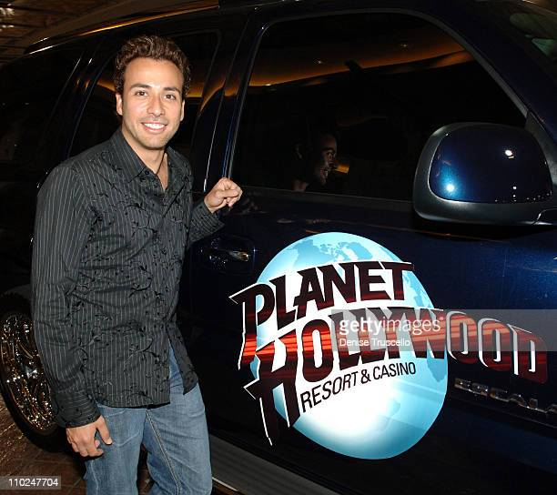 Howie Dorough of Backstreet Boys during Backstreet Boys at The Aladdin Hotel and Casino Resort's Curve Nightclub August 28 2005 at The Aladdin Resort...