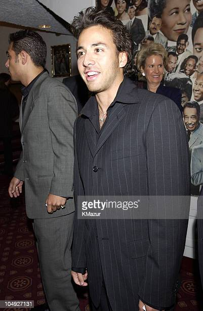 Howie Dorough of Backstreet Boys during Democratic National Committee's A Night at the Apollo Show at Harlem's World Famous Apollo Theater in New...
