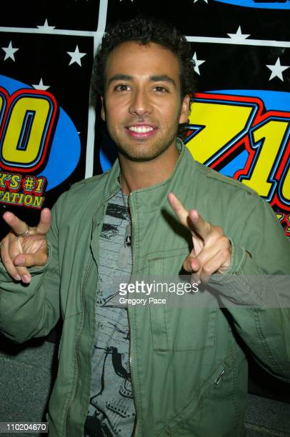 Howie Dorough of Backstreet Boys during Z100's Zootopia 2004 at Madison Square Garden in New York City New York United States