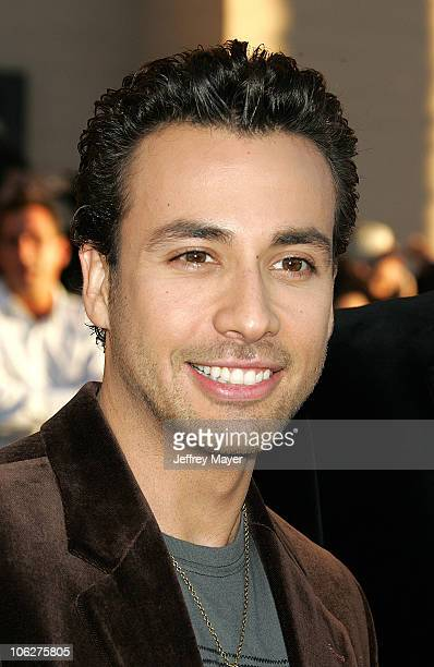 Howie Dorough of the Backstreet Boys during 33rd Annual American Music Awards Arrivals at Shrine Auditorium in Los Angeles California United States