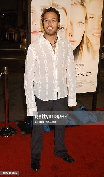 Howie Dorough of the Backstreet Boys during White Oleander Premiere Los Angeles at Grauman's Chinese Theatre in Hollywood California United States
