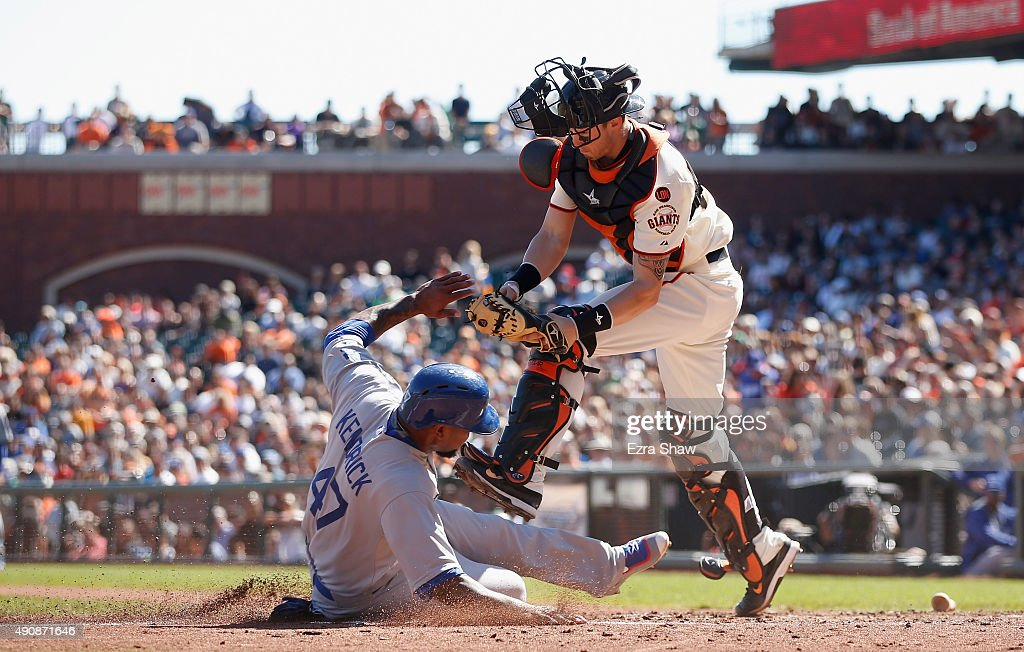 Los Angeles Dodgers v San Francisco Giants