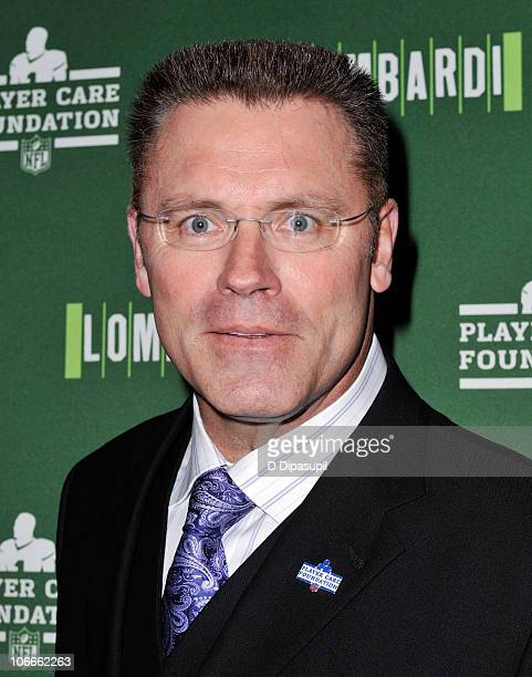 Howie Long attends a special performance of Lombardi during NFL Family Night at Circle in the Square on November 9 2010 in New York City