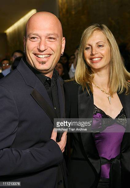 Howie Mandel and wife Angel Mandel during 8th Annual Family Television Awards at Beverly Hilton Hotel in Beverly Hills California United States