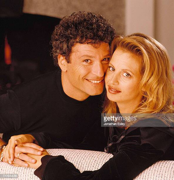 Howie Mandel and wife Terry Circa 1998 Various Jonathan Exley Celebrity Archives