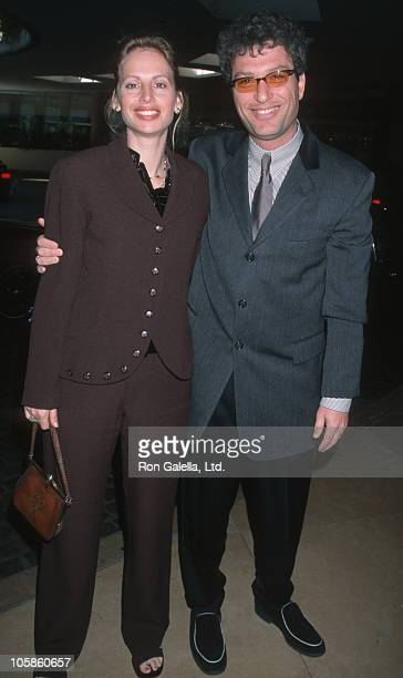 Howie Mandel and wife Terry during 48th Golden Apple Awards at Beverly Wilshire Hotel in Beverly Hills California United States