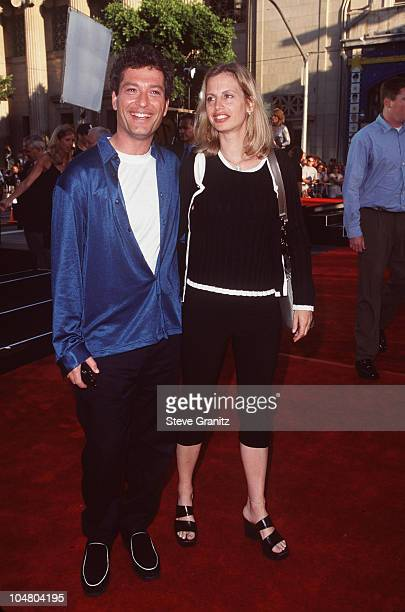 Howie Mandel and wife Terry Mandel during Lethal Weapon 4 Los Angeles Premiere at Mann Chinese Theatre in Hollywood California United States