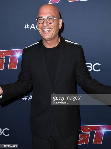 "Howie Mandel arrives at the ""America's Got Talent"" Season 14 Live Show at Dolby Theatre on August 13, 2019 in Hollywood, California."