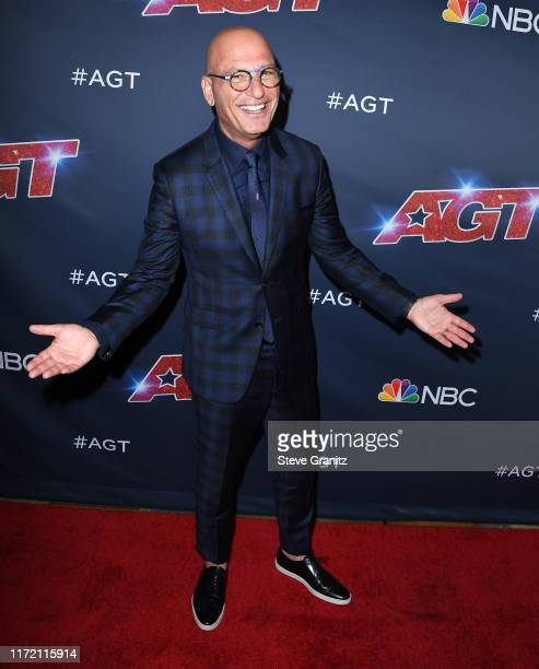 Howie Mandel arrives at the America's Got Talent Season 14 Live Show Red Carpet at Dolby Theatre on September 03 2019 in Hollywood California