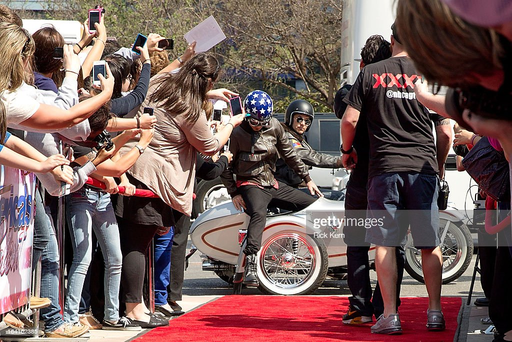 Howie Mandel arrives at the 'America's Got Talent' Season 8 auditions at the Lila Cockrell Theatre on March 20, 2013 in San Antonio, Texas.