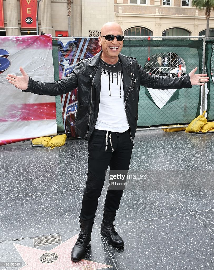 Howie Mandel attends 'America's Got Talent' Red Carpet Event held at the Dolby Theater on April 22, 2014 in Los Angeles, California.