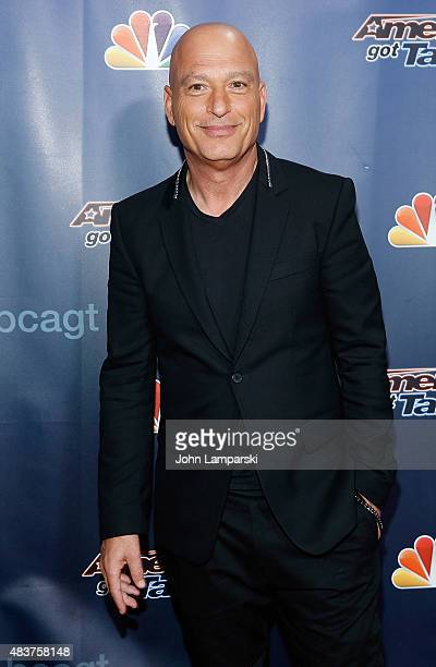 Howie Mandel attends America's Got Talent season 10 on August 12 2015 at Radio City Music Hall on August 12 2015 in New York City