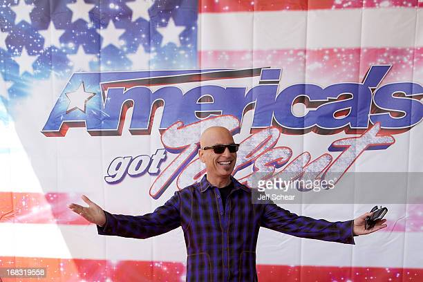 Howie Mandel attends 'America's Got Talent' season 8 meet the judges red carpet event at Akoo Theatre at Rosemont on May 8 2013 in Rosemont Illinois