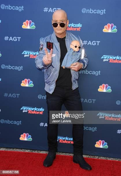 "Howie Mandel attends NBC's ""America's Got Talent"" season 12 kickoff at Pasadena Civic Auditorium on March 27, 2017 in Pasadena, California."
