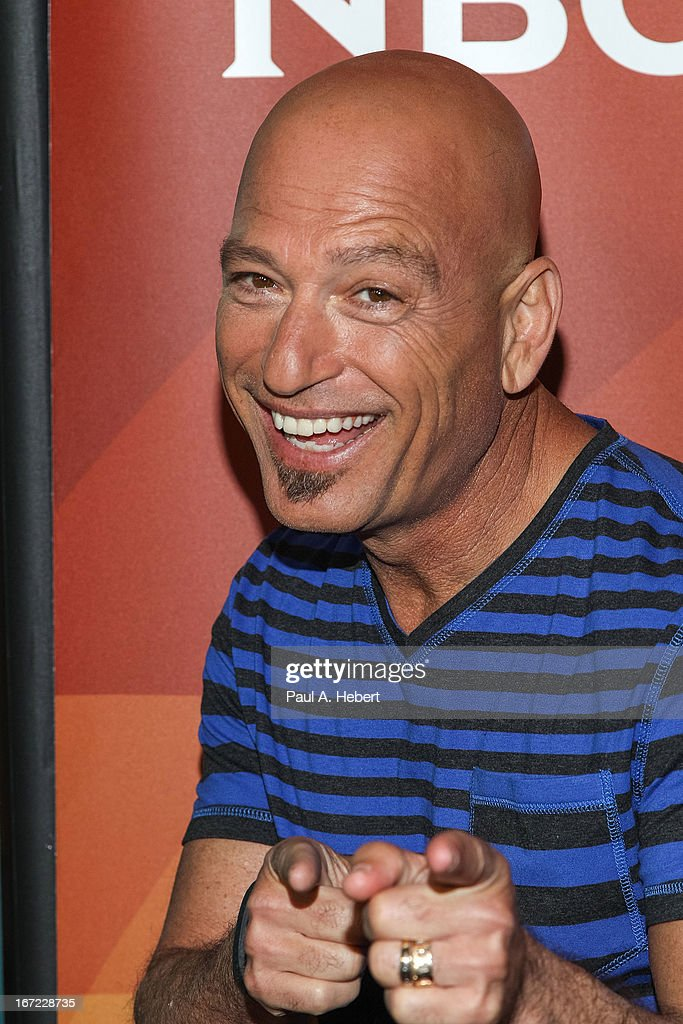 Howie Mandel attends the 2013 NBCUniversal Summer Press Day held at The Langham Huntington Hotel and Spa on April 22, 2013 in Pasadena, California.