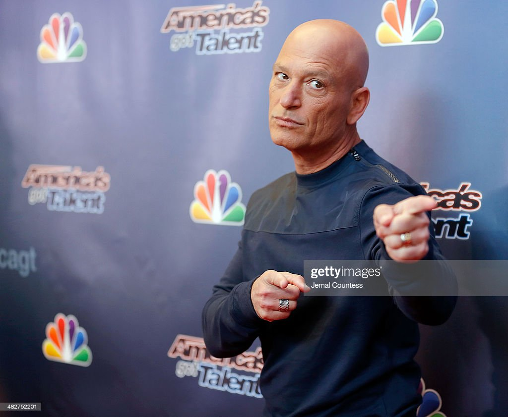 Howie Mandel attends the 'America's Got Talent' red carpet event at Madison Square Garden on April 4, 2014 in New York City.