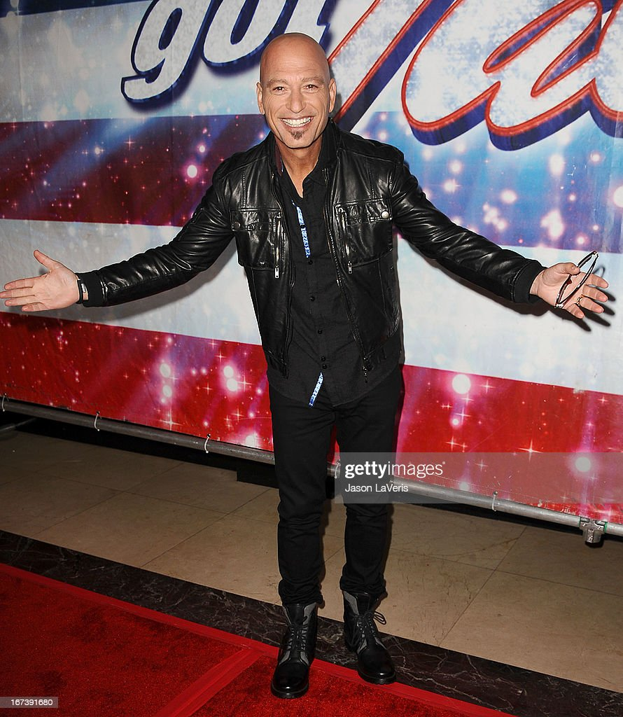 Howie Mandel attends the 'America's Got Talent' season eight premiere party at the Pantages Theatre on April 24, 2013 in Hollywood, California.