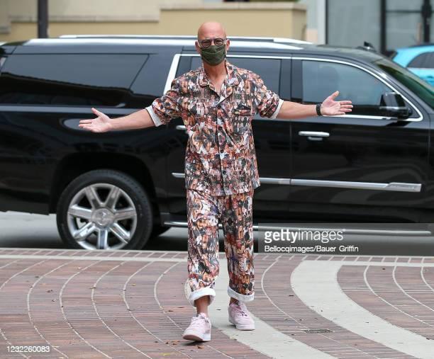 Howie Mandel is seen on April 11, 2021 in Los Angeles, California.