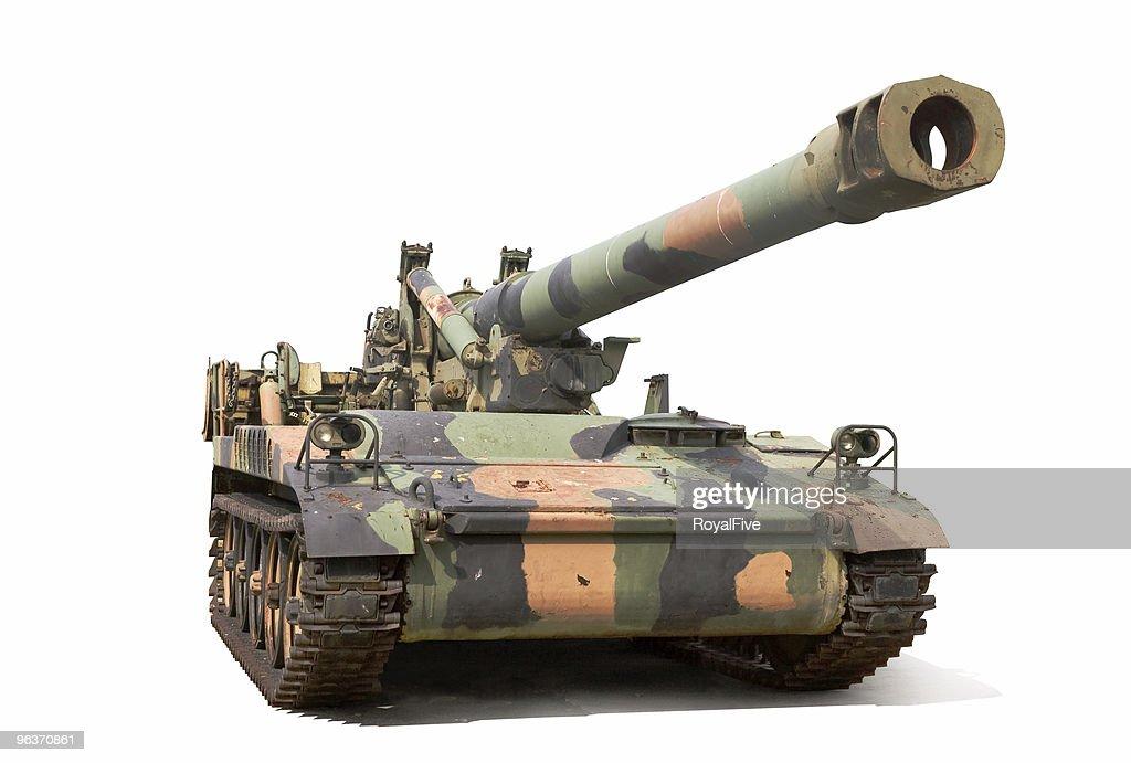 Howitzer : Stock Photo