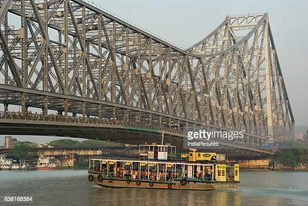 Howrah Bridge over Hooghly river