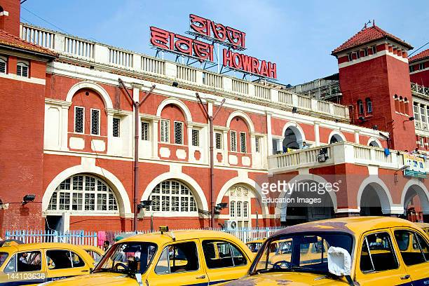 Howrah Railway Station Calcutta Kolkata West Bengal India