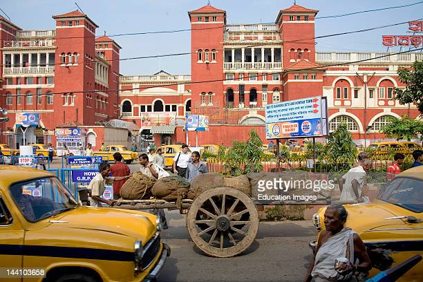 Howrah Railway Station Calcutta Kolkata West Bengal India