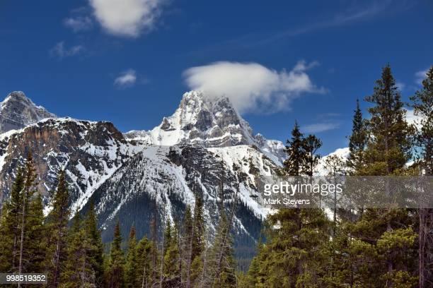 Howse Peak and North Waputik Mountains