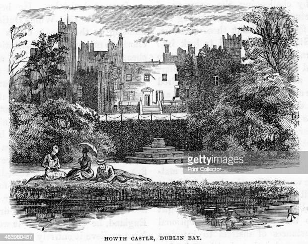 Howth Castle, Dublin Bay, 19th century.