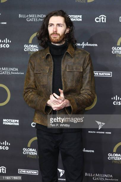 Hozier attends the 2019 Global Citizen Prize at the Royal Albert Hall on December 13, 2019 in London, England.