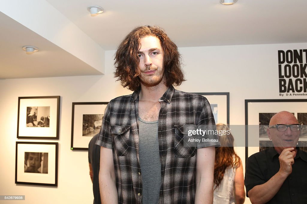 Hozier attends the celebration for 'Don't Look Back' exhibit at Morrison Hotel Gallery on June 23, 2016 in West Hollywood, California.