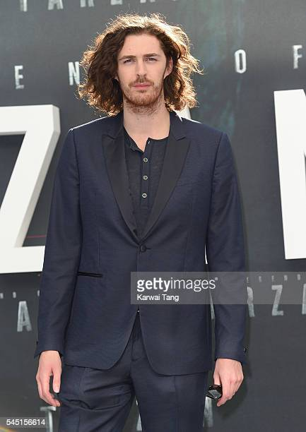 Hozier attends the European premiere of The Legend Of Tarzan at Odeon Leicester Square on July 5 2016 in London England