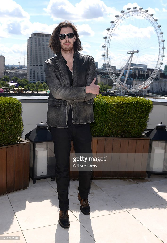 Hozier attends the photocall for 'The Legend Of Tarzan' at Corinthia London on July 4, 2016 in London, England.
