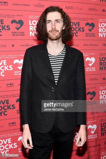 Hozier attends the Third Annual Love Rocks NYC Benefit Concert for God's Love We Deliver on March 07 2019 in New York City