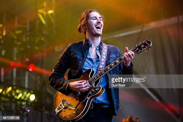 Hozier performs at Bumbershoot at Seattle Center on September 7 2015 in Seattle Washington