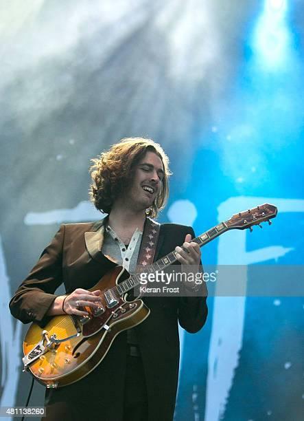 Hozier performs at Longitude Festival on July 17, 2015 in Dublin, Ireland.