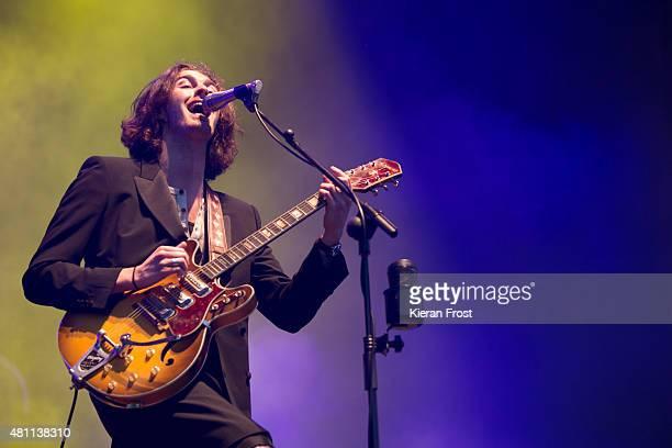 Hozier performs at Longitude Festival on July 17 2015 in Dublin Ireland